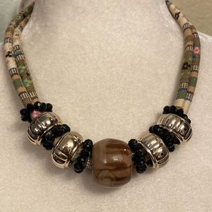 Chunky Tribal Statement Necklace